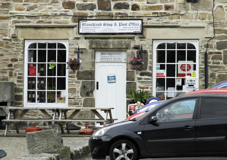 Blanchland - Post Office